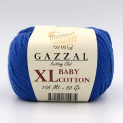 Пряжа Gazzal Baby Cotton XL 3421XL синий