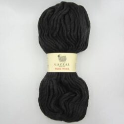 Пряжа Gazzal Pure Wool 5243 темно-коричневый