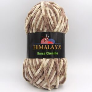Пряжа Himalaya Bursa Chenille бежевый меланж
