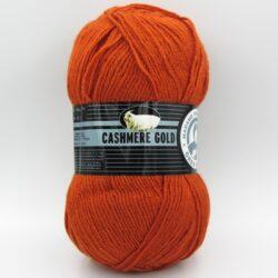 Пряжа Madame Tricote Cashmere Gold 107 терракотовый
