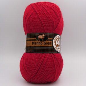 Пряжа Madame Tricote Merino Gold 033 красный