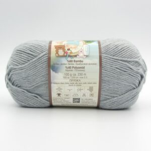 Пряжа Nako Baby Hosgeldin Soft 4895 серый