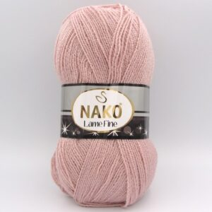 Пряжа Nako Lame Fine 10569 пудра