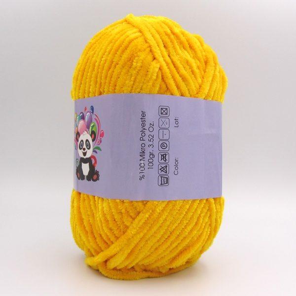 Пряжа Panda Soft Schenille желтый