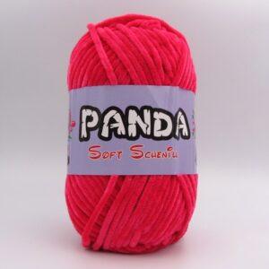 Пряжа Panda Soft Schenille малина