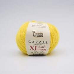 Пряжа Gazzal Baby Wool 812 XL желтый