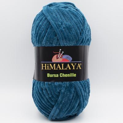 Пряжа плюшевая Himalaya Bursa Chenille морская волна