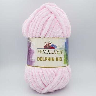 Пряжа плюшевая Himalaya Dolphin Big 76703 нежно-розовый