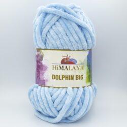 Пряжа плюшевая Himalaya Dolphin Big 76704 нежно-голубой