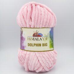 Пряжа плюшевая Himalaya Dolphin Big 76720 нежно-розовый