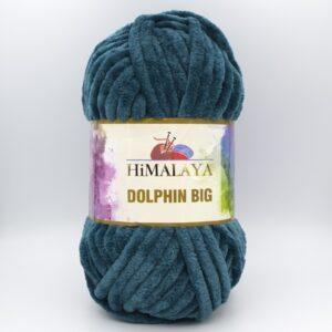 Пряжа плюшевая Himalaya Dolphin Big 76729 темно-зеленый