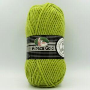 Пряжа Madame Tricote Alpaka Gold 065 светло-зеленый