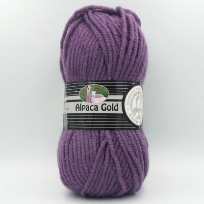 Пряжа Madame Tricote Alpaka Gold 104 фиолетовый