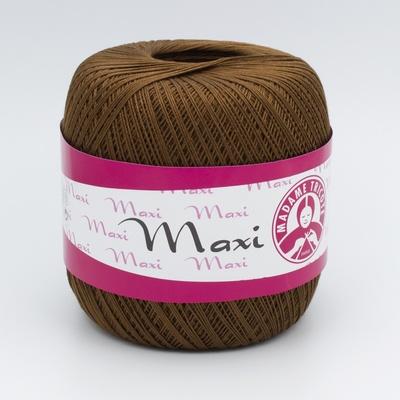 Пряжа Madame Tricote Maxi 5541 коричневый