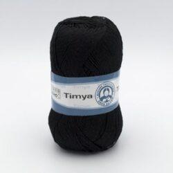Пряжа Madame Tricote Timya 9999 черный