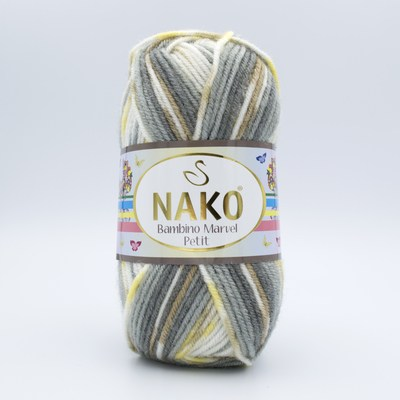 Пряжа Nako Bambino Marvel Petit 81132