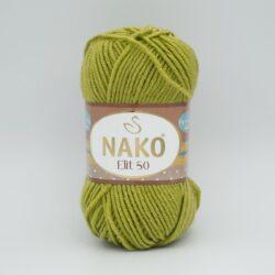 Пряжа Nako Elit 50 1291 фисташковый