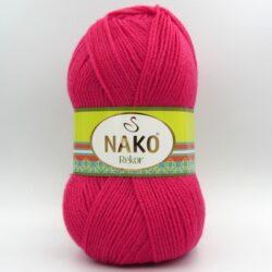 Пряжа Nako Rekor 10116 малина