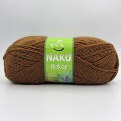 Пряжа Nako Rekor 10562 шоколад