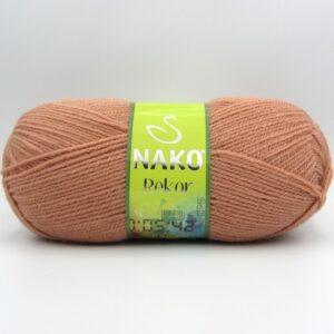 Пряжа Nako Rekor 11071 карамель
