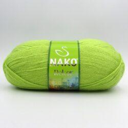 Пряжа Nako Rekor 5086 салатовый