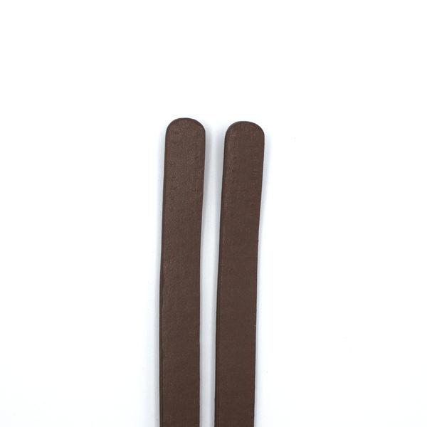 Ручки для сумки пришивные 60 см коричневый