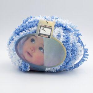 Пряжа Baby Mahra Filati голубой меланж 502