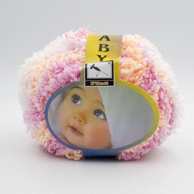 Пряжа Baby Mahra Filati розово-персиковый меланж 514
