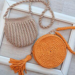 Изготовление сумок и корзинок