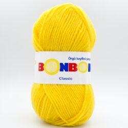 Пряжа Nako Bonbon Classic 98217 желтый