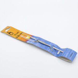 Крючок для вязания Pony 58682 металлический без ручки 0.85 мм 12 см