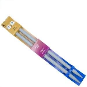 Спицы прямые для вязания Pony 34671 15 мм 40 см