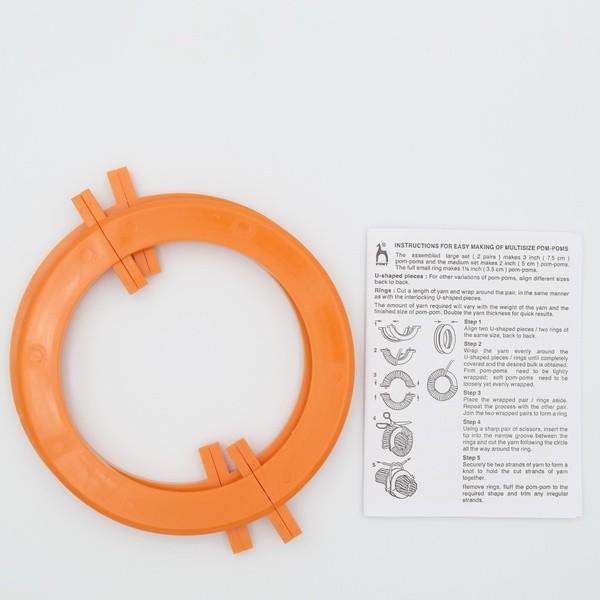 Приспособление для изготовления помпона 10 см Pony 60683