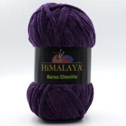 Пряжа плюшевая Himalaya Bursa Chenille фиолетовый