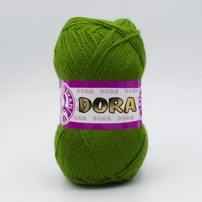 Пряжа Madame Tricote Dora 087 зеленый