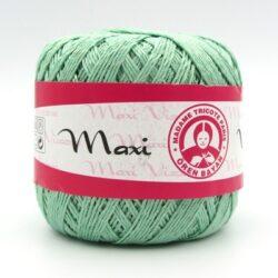Пряжа Madame Tricote Maxi Viscose mini 6361 мята
