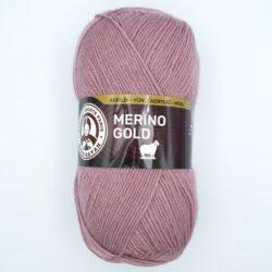 Пряжа Madame Tricote Merino Gold 127 сухая роза
