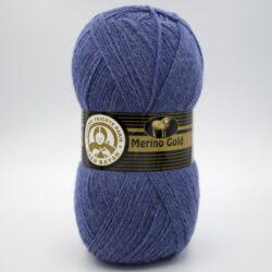 Пряжа Madame Tricote Merino Gold 138 джинс