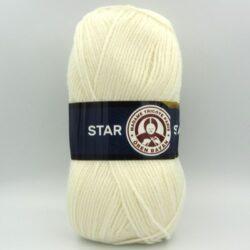 Пряжа Madame Tricote Star 004 молочный