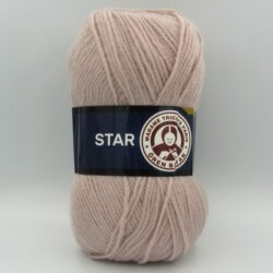 Пряжа Madame Tricote Star 118 сиреневая пудра