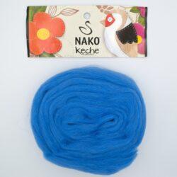 Пряжа Nako Keche 1256 сине-голубой