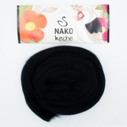 Пряжа Nako Keche 217 черный