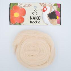 Пряжа Nako Keche 2250 светлый беж