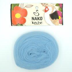 Пряжа Nako Keche 3133 серо-голубой