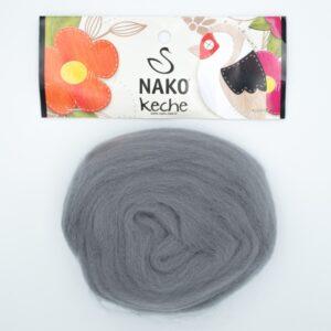 Пряжа Nako Keche 4192 серый