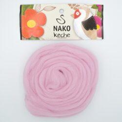 Пряжа Nako Keche 5117 светло-розовый
