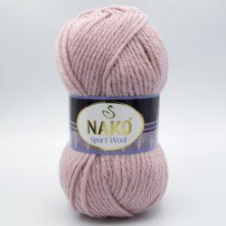 Пряжа Nako Sport Wool 10639 пудра