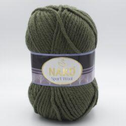 Пряжа Nako Sport Wool 11946 хакки
