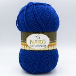 Пряжа Nako Superlambs Special синий 1599