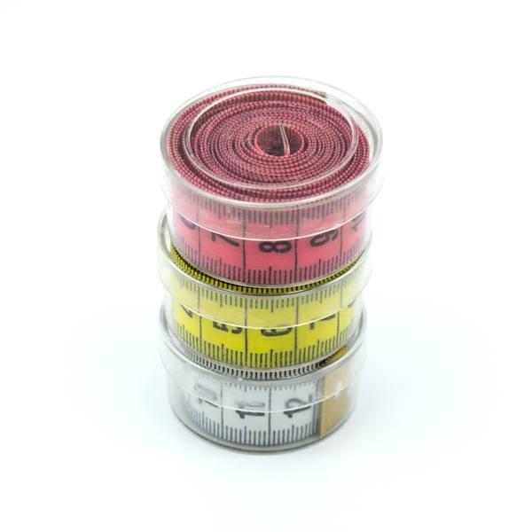 Сантиметр швейный (портновский) 150 см в футляре